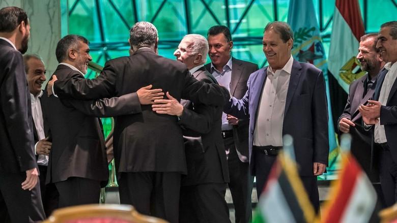 Hamas dan Fatah Tanda Tangani Kesepakatan Rekonsiliasi di Kairo