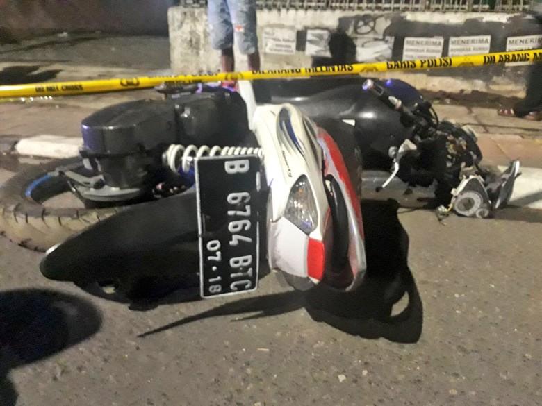 Kecelakaan Tunggal di Pasar Rumput, Pemotor Tewas di Tempat