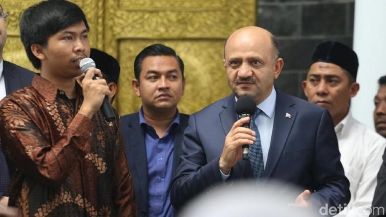 Wakil PM Turki Pidato di Aceh: Semua Muslim Bersaudara