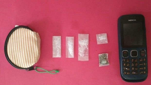 Barang bukti sabu / dok Polda Banda Aceh
