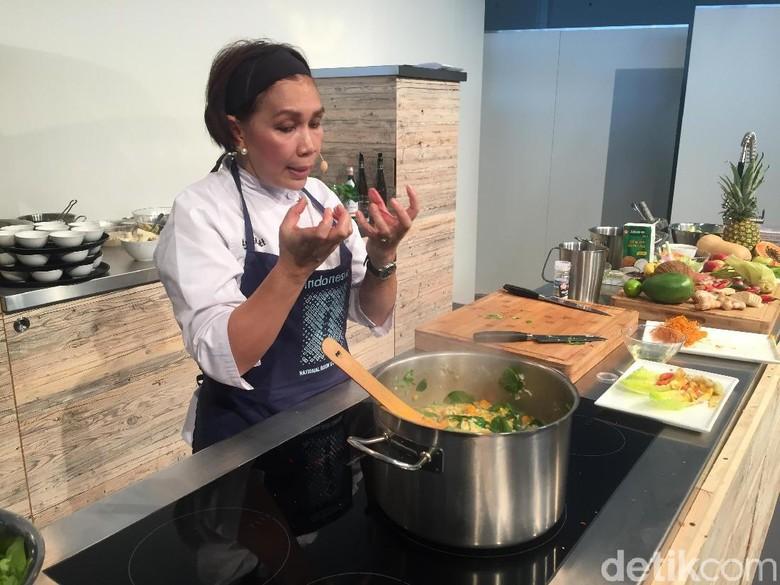 Cooking Show Masakan Indonesia di Frankfurt Book Fair 2017 Banjir Pengunjung