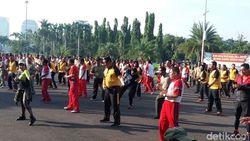 Video Ketika Polri dan TNI Jaga Kekompakan