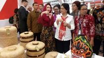 Arumi Bachsin Senang Stan Pameran Trenggalek Dikunjungi Ibu Negara