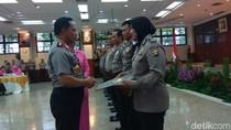 43 Polisi dan 2 TNI Berprestasi Dapat Penghargaan dari Kapolri