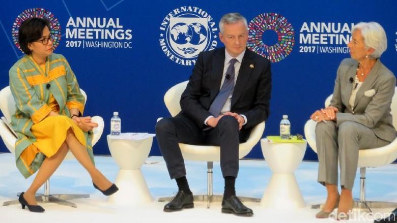 Menkeu Sedunia Atur Strategi Perangi Kejahatan di Sektor Keuangan