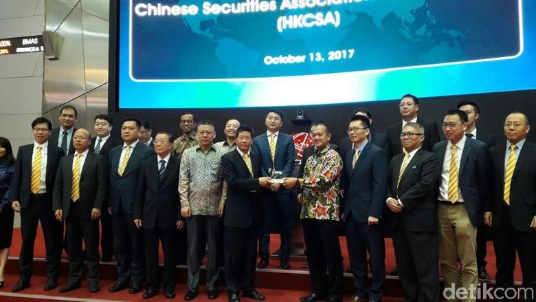 Sambangi BEI, Sekuritas China Mau Culik 10 Emiten Indonesia