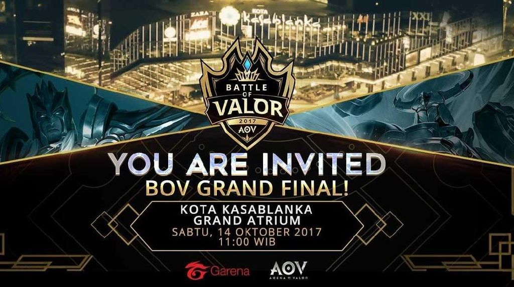 Grand Final Battle of Valor Siapkan Kejutan