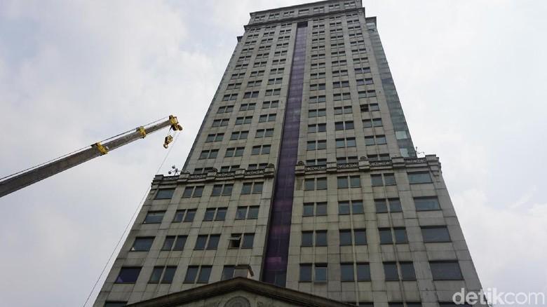 Melihat Menara Saidah, Gedung Perkantoran yang Tak Berpenghuni