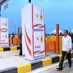 Dibuka Jokowi, Masuk Tol Pertama Sumsel Gratis Sampai Akhir Tahun