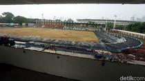 Melihat Kondisi Terkini Renovasi Stadion Madya Senayan