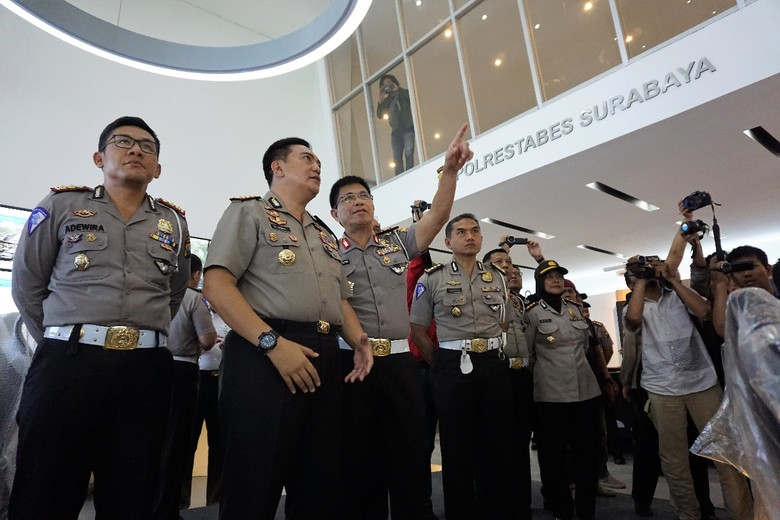 Puji Command Center Surabaya, Kakorlantas: Jadi Contoh Nasional