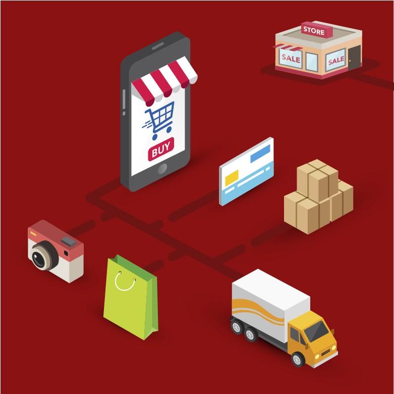 Retail Modern Bertahan dari Serbuan e-Commerce