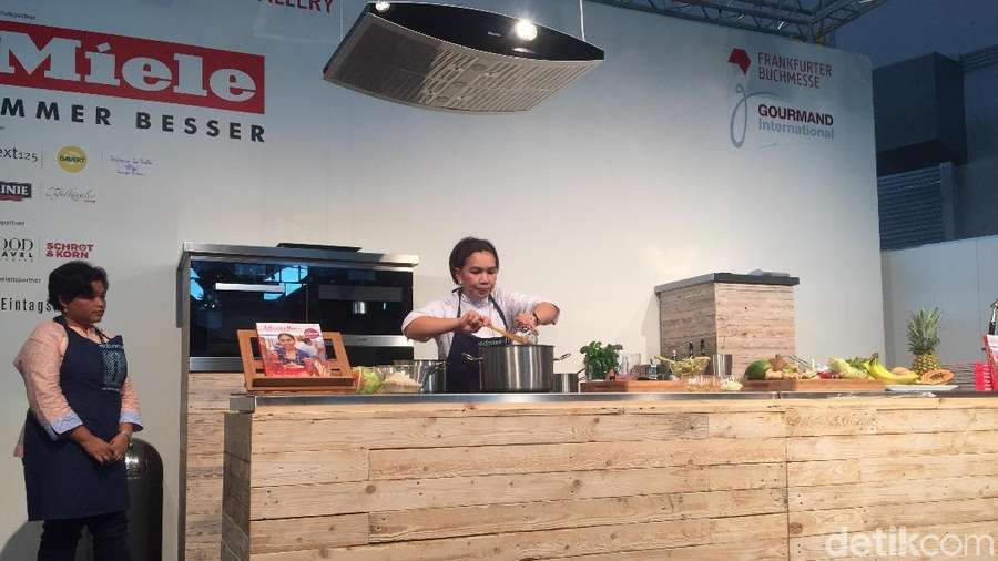 Masakan Indonesia Ramaikan Frankfurt Book Fair 2017