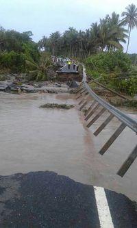 Ada Jalan Ambles di Lampung, PUPR Kirim Jembatan Darurat