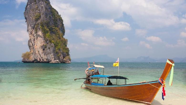 Foto: Ilustrasi pantai di Thailand (Thinkstock)