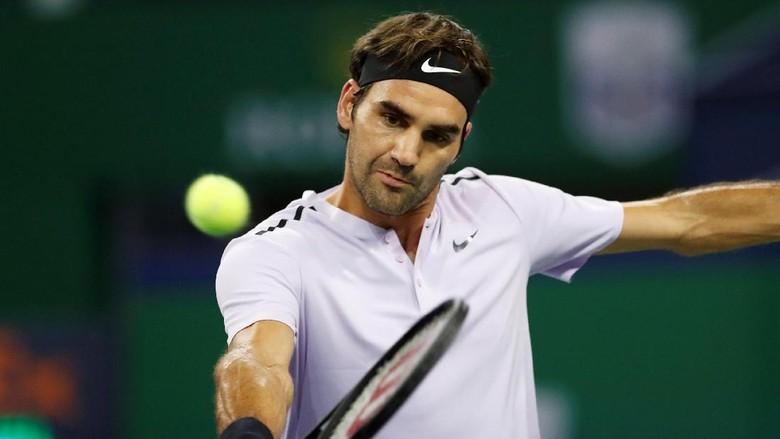 Rebut Peringkat 1 Dunia dari Nadal Bukan Prioritas Federer