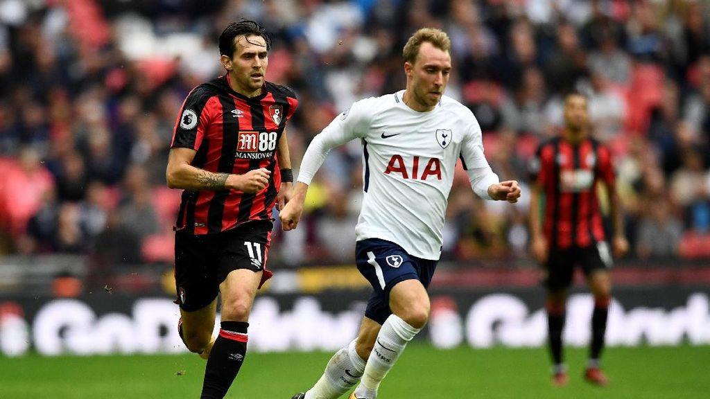 Gol Tunggal Eriksen Menangkan Spurs atas Bournemouth