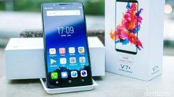 Hands On Ponsel Jagoan Selfie Vivo V7+
