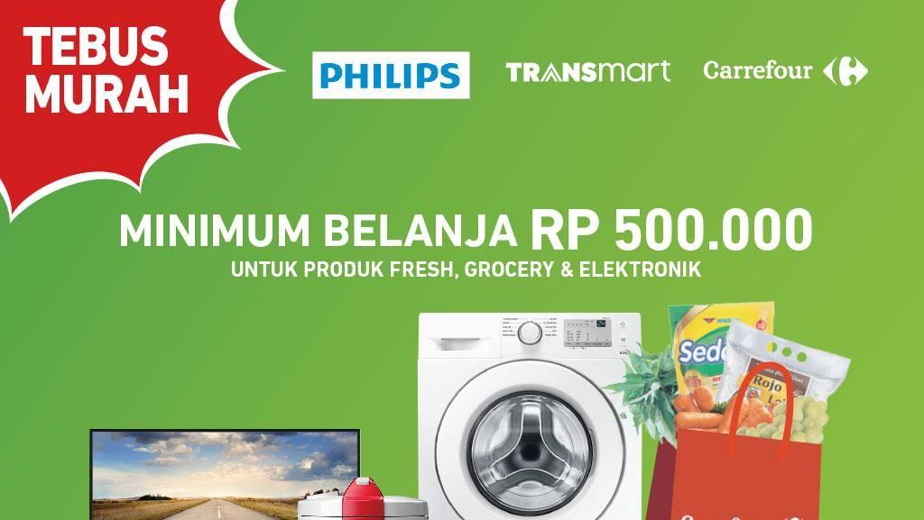 Tebus Murah Elektronik di Akhir Pekan Transmart Carrefour