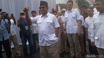 Prabowo akan Gelar Syukuran Jelang Pelantikan Anies-Sandi
