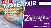 #FreeTravelFair : Gratis Bermalam di Kota Bukit Indah Plaza Hotel