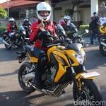 Bos-bos Honda Ramai-ramai Touring ke Jawa Tengah