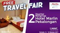 #FreeTravelFair : Voucher Bermalam di Hotel Marlin Pekalongan