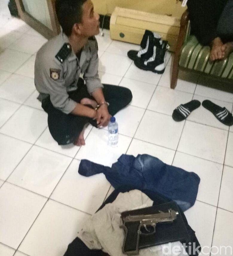 Polisi Gadungan Berbekal Pistol Peras Warga Sukabumi