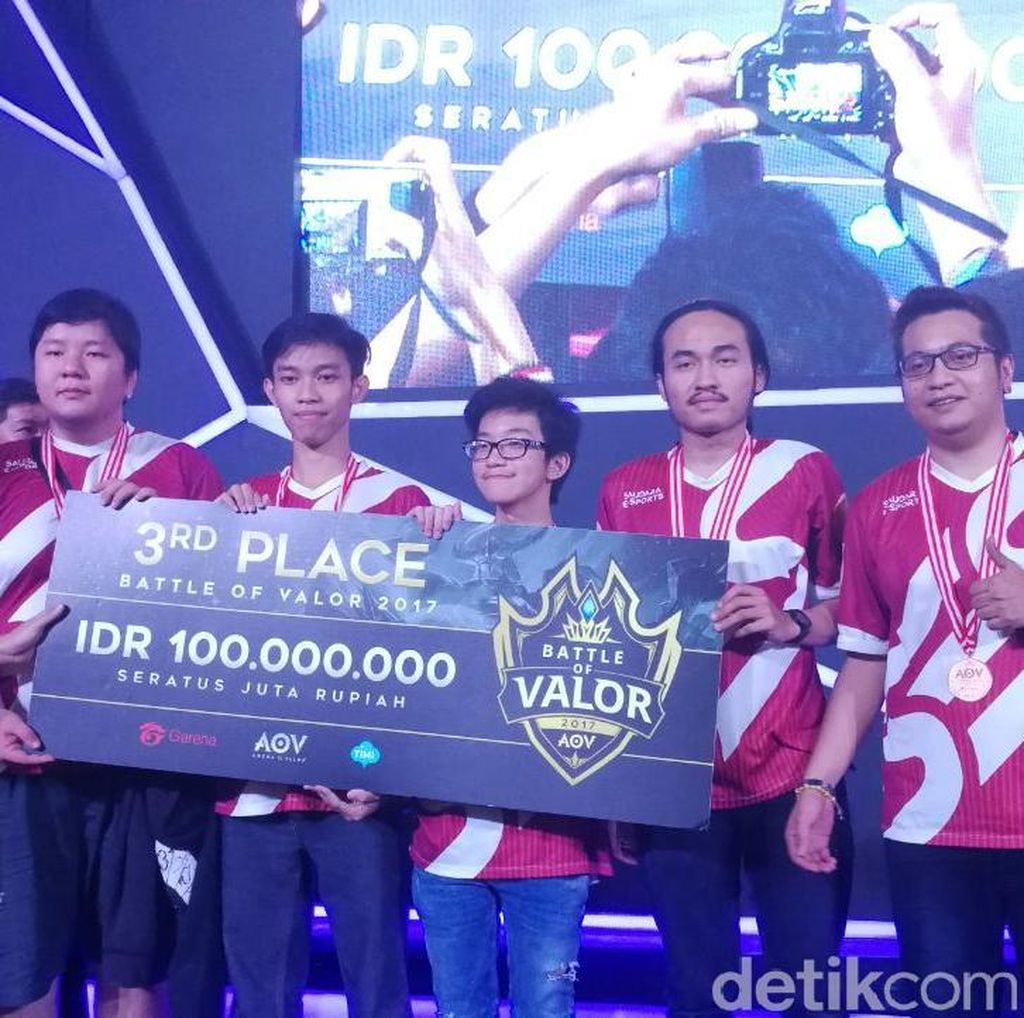 Grand Final Battle of Valor: Pertarungan Sengit Juara III