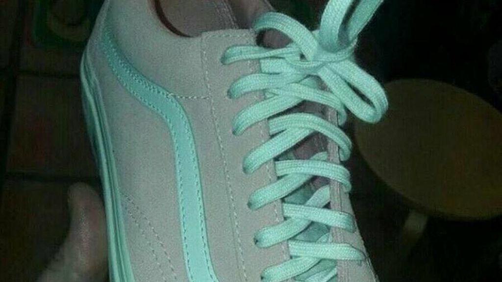 Debat Sengit Netizen, Apa Warna Sepatu Ini?