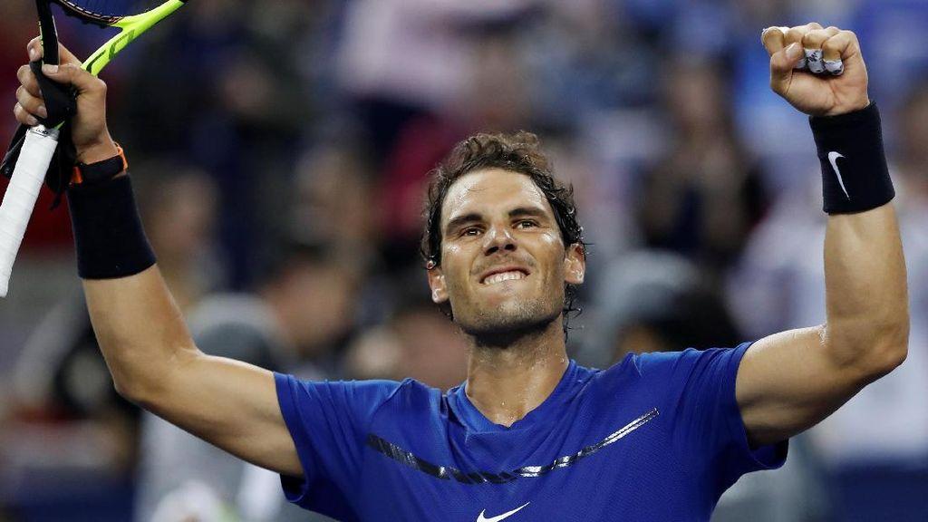 Final Shanghai Masters Pertemukan Nadal dengan Federer