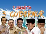 Kiprah 3 Gubernur DKI Jakarta Dalam Satu Priode