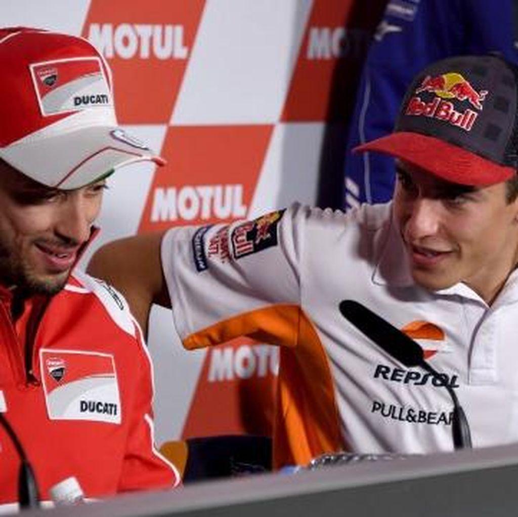 MotoGP Jepang: Dovizioso Menangi Duel Sengit Lawan Marquez