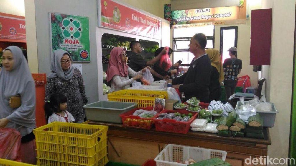 Daging Sapi Cuma Rp 75.000/kg di Toko Tani