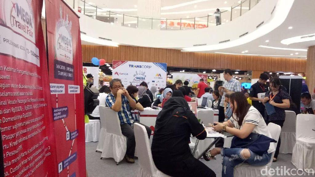 Bali & Raja Ampat Jadi Favorit di Mega Travel Fair Palembang