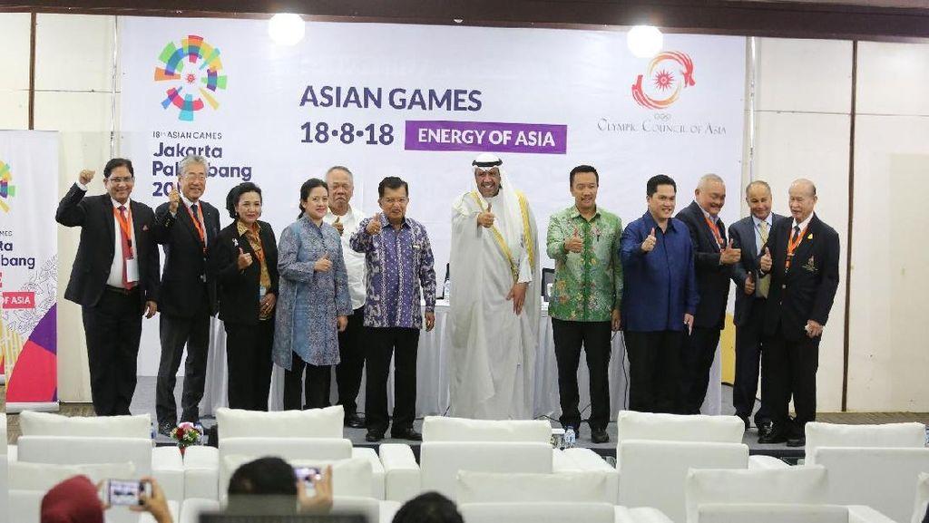 Jurnalis, Ofisial, dan Atlet Asing Wajib Pakai Visa ke Asian Games 2018