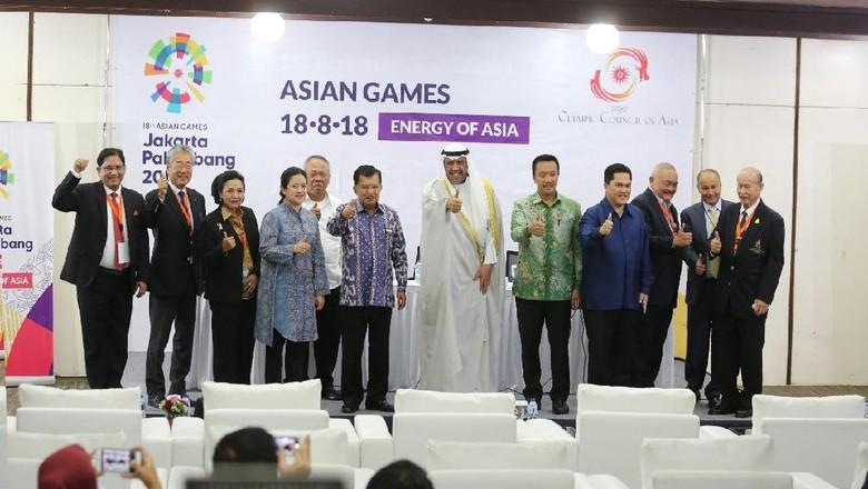 Presiden OCA Apresiasi Persiapan Asian Games 2018