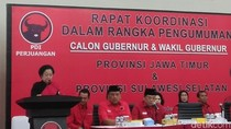Megawati ke Cagub-Cawagub PDIP: Jangan Bikin KPK Bangun