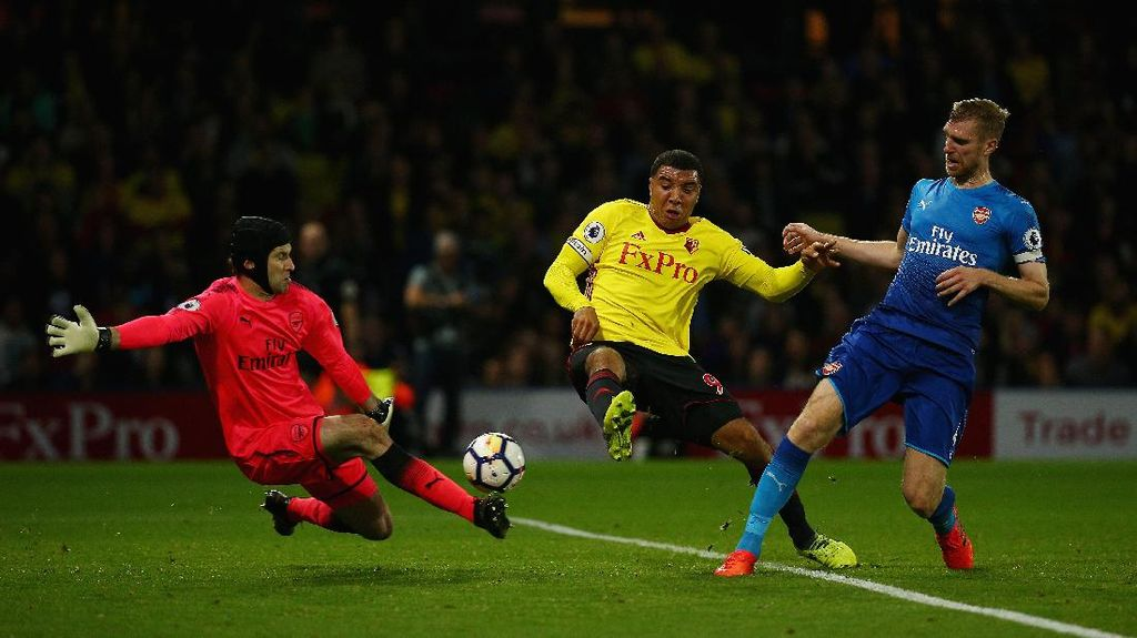 Rekor Buruk Cech dan Arsenal Saat Tendangan Penalti