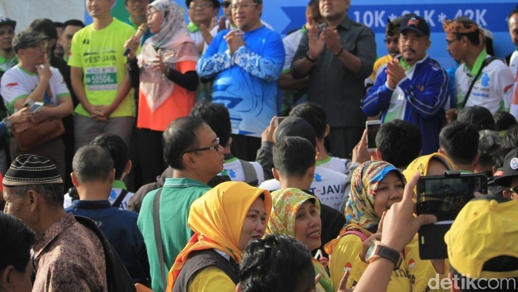 Netty Heryawan Hingga Turis Prancis Ikuti West Java Eco Marathon