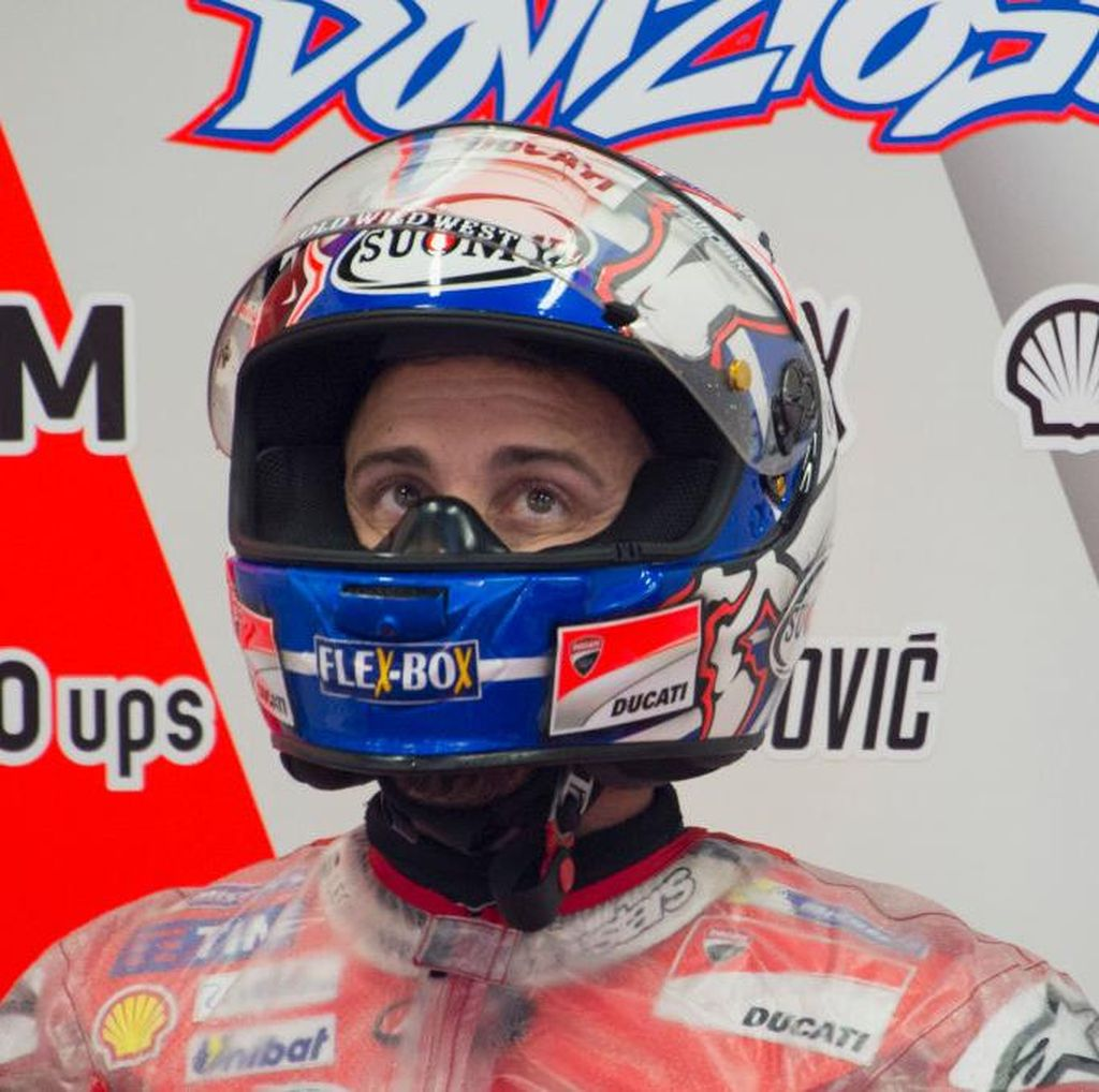 Dovizioso Diuntungkan Kesalahan Marquez