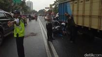 Motor Tabrak Truk, Mahasiswi di Bandung Tewas Seketika
