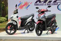 Mio S Tubeless dan Ban Lebar 125cc Blue Core Diluncurkan