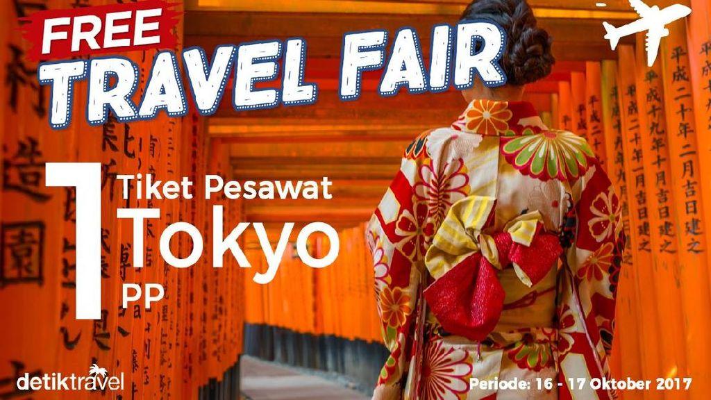Pemenang Free Travel Fair Periode 16-17 Oktober 2017