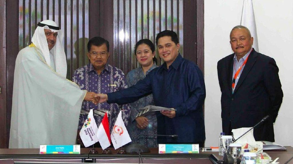 OCA Setuju Penggunaan Dana Sponsor Asian Games Lebih Cepat
