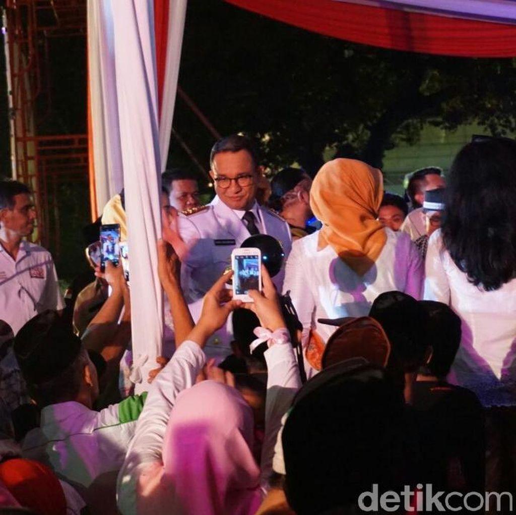 Sambutan Lengkap Gubernur DKI Anies Baswedan ke Warganya
