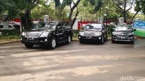 Mobil DKI-1 dan DKI-2 Disiapkan untuk Anies-Sandi di Istana