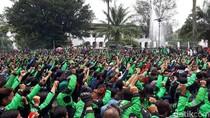 Sopir Ojek dan Taksi Online di Bandung Minta Tetap Beroperasi