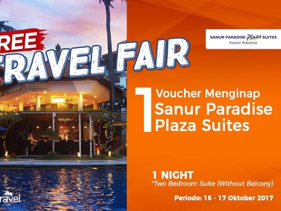 #FreeTravelFair : Bermalam Gratis di Sanur Paradise Plaza Suites