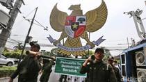 Daftar Pemilu, PKB Bawa Lambang Garuda Raksasa
